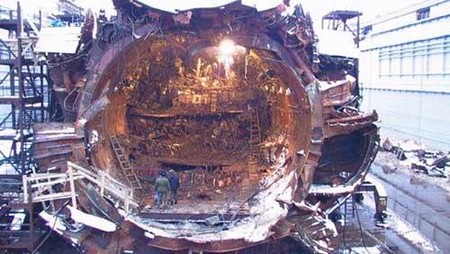 Vụ nổ tàu ngầm thảm khốc trong lịch sử nước Nga
